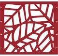 Element gard Palms 90 x 90 cm, rosu