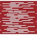 Element gard Vienna 90 x 90 cm, roșu