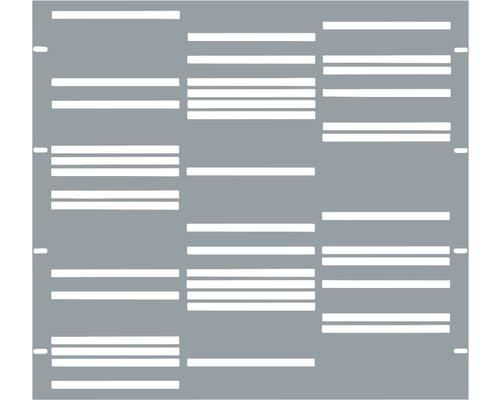 Element gard Stripes 90 x 90 cm, gri