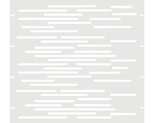 Element gard Vienna 90 x 90 cm, alb