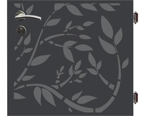 Poarta simpla Floral, 90 x 90 cm, deschidere dreapta