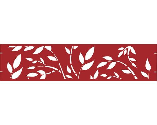 Element gard Floral 180 x 45 cm, rosu