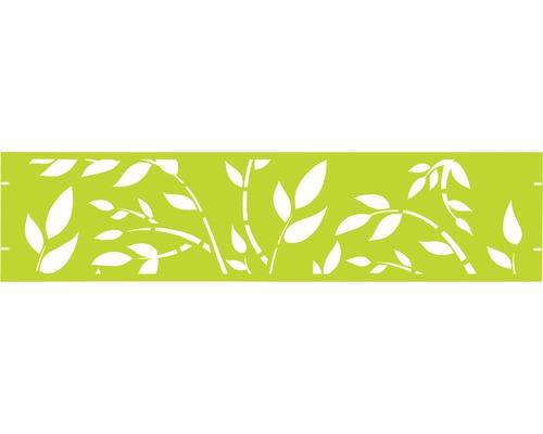 Element gard Floral 180 x 45 cm, verde