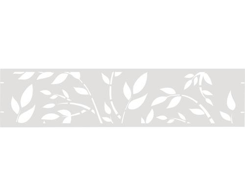 Element gard Floral 180 x 45 cm, alb
