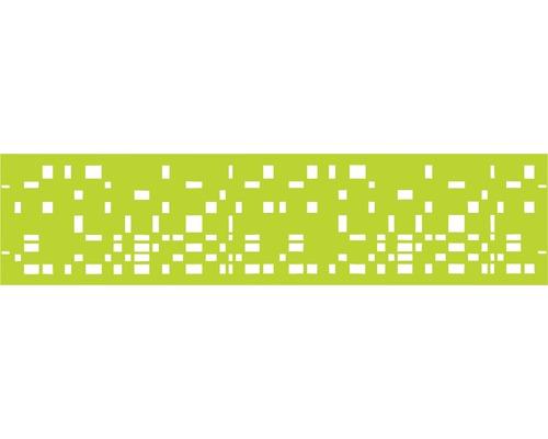 Element gard Geo 180 x 45 cm, verde
