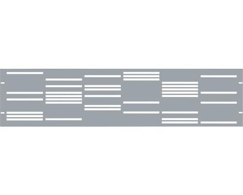 Element gard Stripes 180 x 45 cm, gri