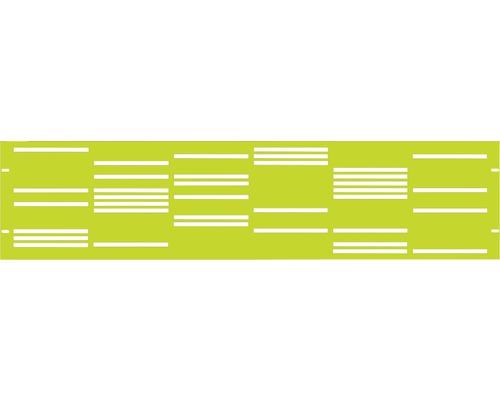Element gard Stripes 180 x 45 cm, verde