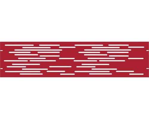 Element gard Vienna 180 x 45 cm, rosu