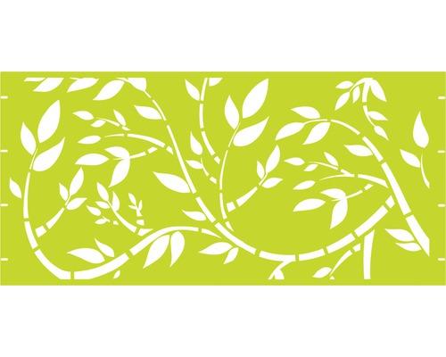 Element gard Floral, 180 x 90 cm, verde
