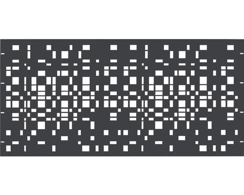 Element gard Geo,180 x 90 cm, antracit