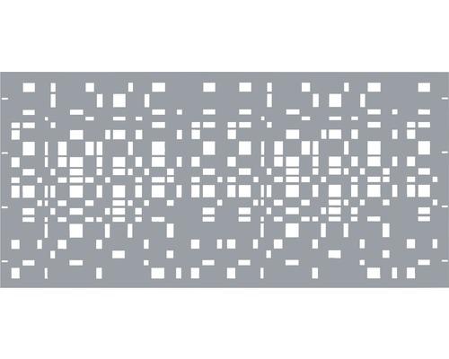 Element gard Geo, 180 x 90 cm, gri