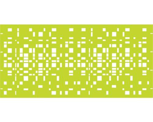 Element gard Geo, 180 x 90 cm, verde