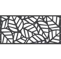 Element gard Palms, 180 x 90 cm, antracit