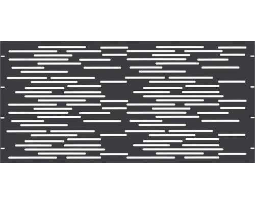 Element gard Vienna, 180 x 90 cm, antracit