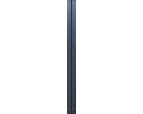 Stalp 8 x 8 x 100 cm, antracit