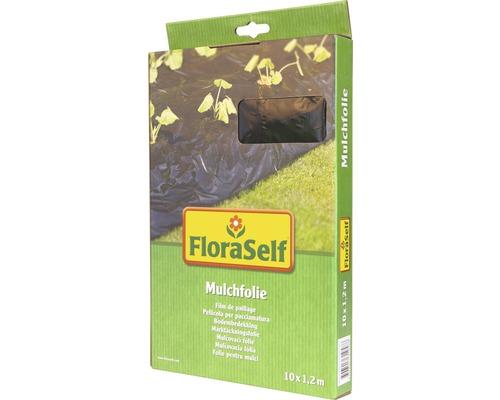 Folie de mulcire FloraSelf 10x1,2 m, neagra