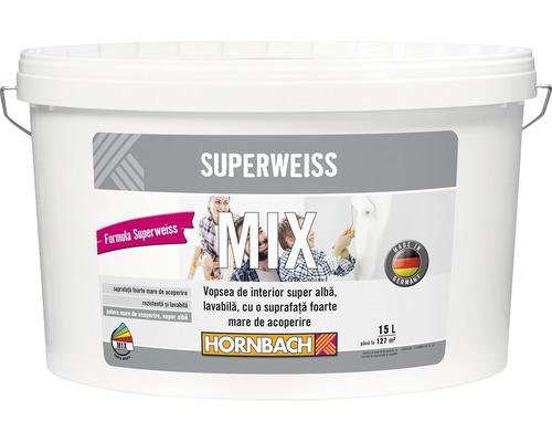 Vopsea mix Superweiss in nuanta dorita (baza A) 15 l