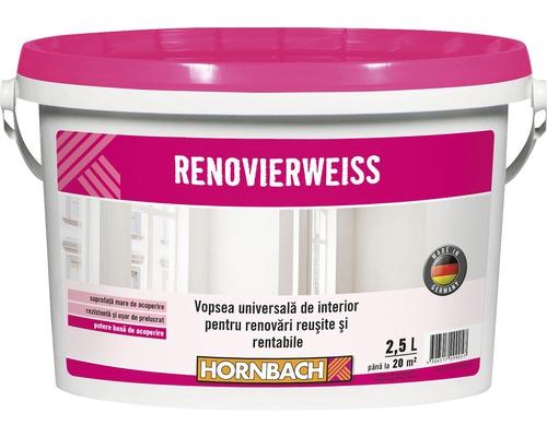 Vopsea universala pentru interior Renovierweiss alba 2,5 l