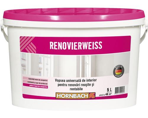 Vopsea universala pentru interior Renovierweiss alba 5 l