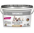 Vopsea lavabila de interior super alba Superweiss 2,5 l