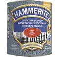 Email pentru metal Hammerite lovitura de ciocan, rosu 2,5 l