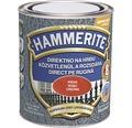 Email pentru metal Hammerite lovitura de ciocan, rosu 0,75 l