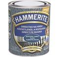 Email pentru metal Hammerite lovitură de ciocan, albastru închis 0,75 l