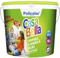 Vopsea lavabila pentru interior CasaBella alba 8,5 l