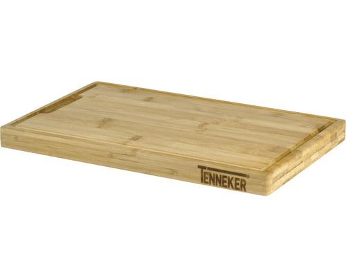 Tocator din lemn de bambus 40 x 25 x 3 cm