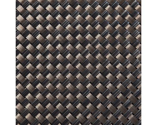 Protecție vizuală balcon, ratan, 300 x 90 cm, maro