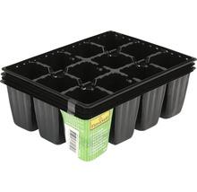 Ghivece pentru cultivat FloraSelf Nen, 18x45x5 cm, 4 buc.