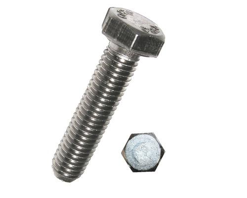Suruburi metrice cu cap hexagonal Dresselhaus 6x60 mm DIN933 otel inox A2, 20 bucati