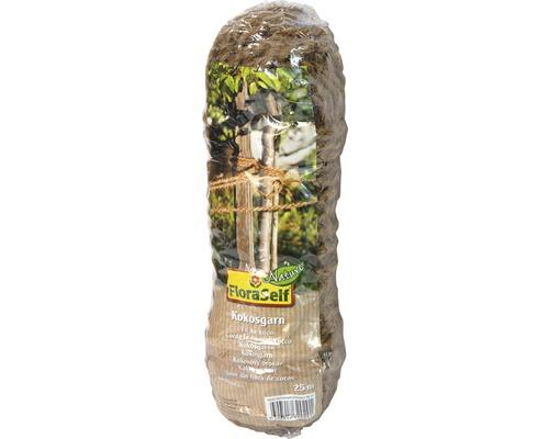 Sfoara de cocos FloraSelf 25 m Ø 0,4 mm, natur