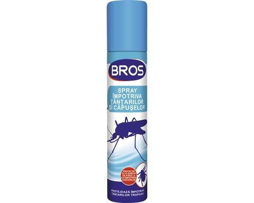 Spray Bros aerosol impotriva tantarilor/capuselor, 90 ml