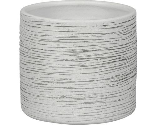 Ghiveci Le Havre, Ø 20 cm, alb