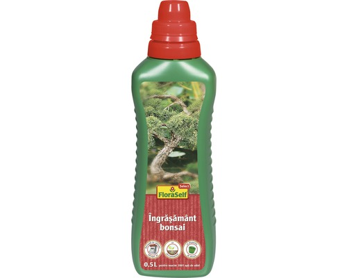 FloraSelf Select Ingrasamant pentru bonsai, 500 ml