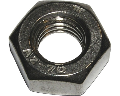 Piulite hexagonale simple Dresselhaus M5 DIN934 otel inox A2, 100 bucati