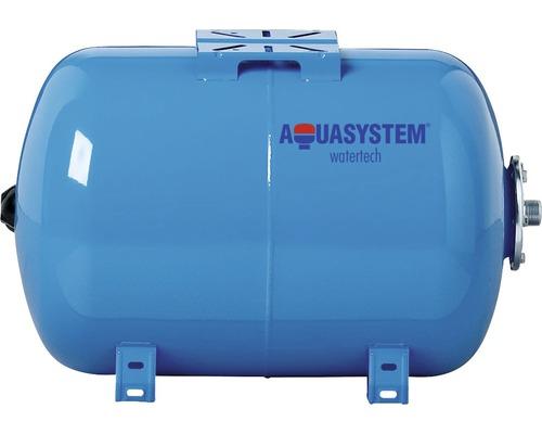 Vas rezervor hidrofor orizontal, suport pompă, capacitate 300 l