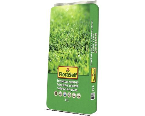 FloraSelf Substrat pentru gazon 35 l