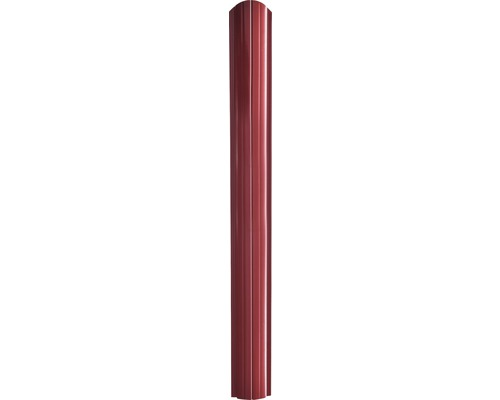 Sipca gard Baufence, 1250 x 10,5 cm, rosu