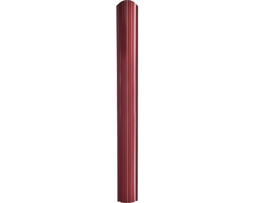 Sipca gard Baufence, 2000 x 10,5 cm, rosu