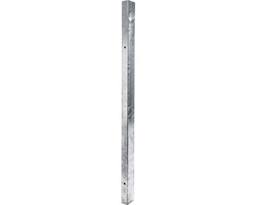 Stalp zincat 60x40x2 mm, h 1500 mm gri