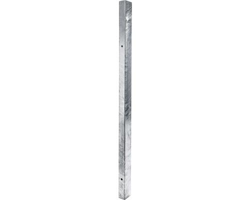 Stâlp zincat 60x40 2 mm, h 2200 mm gri