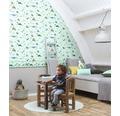 Tapet de hartie cu dinozauri, pentru camera copiilor, 10,05x0,53 m