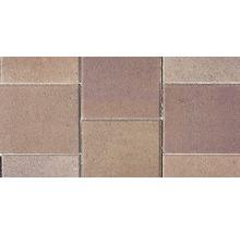 Dală Semmelrock Rettango brun roșcat 40x40x5 cm