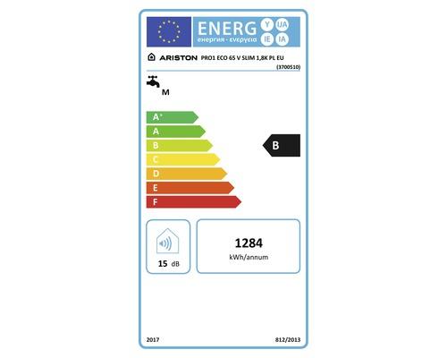 ariston bojler pro eco slim 65l