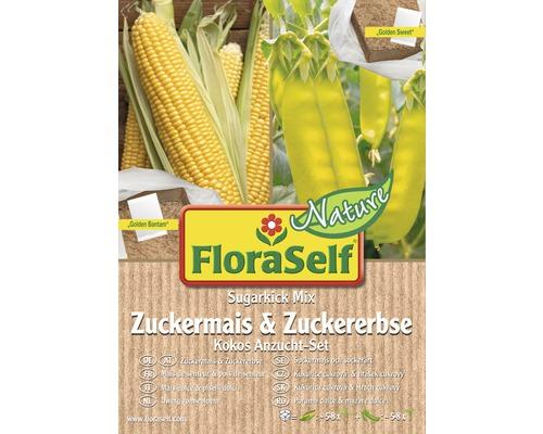 FloraSelf Nature set semanare porumb/mazare dulce