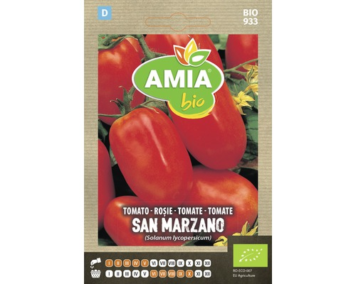 Seminte BIO de rosii San Marzano
