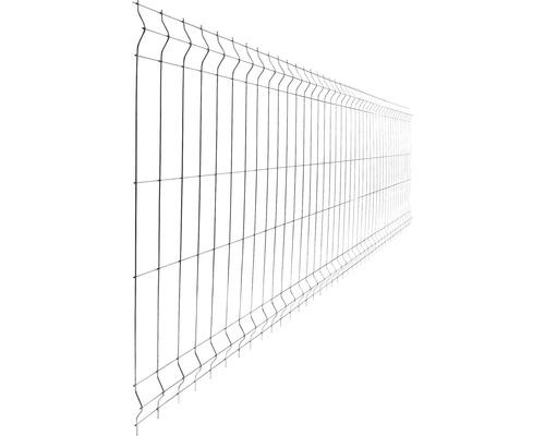 Panou gard 3D bordurat zincat 930x2500 mm, 4 mm gri