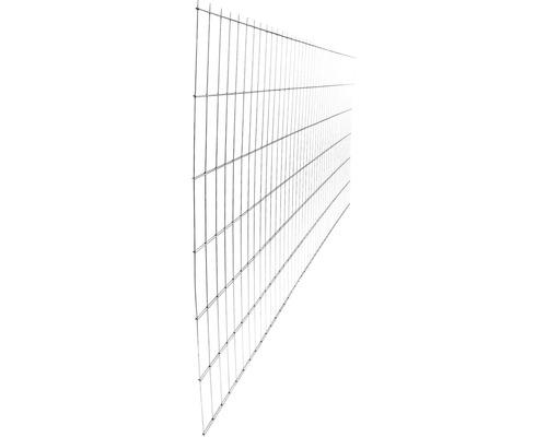 Panou gard 2D zincat 1230x2510 mm, 5/4/5 mm gri